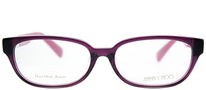 Jimmy Choo Asian Fit JC 114F HDO Purple Rectangle Plastic Eyeglasses