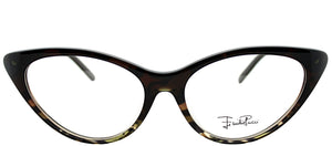 Emilio Pucci EP 2671 236 Griffin On Brown Cat-Eye Plastic Eyeglasses