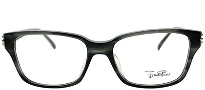 Emilio Pucci EP 2678 021 Striped Grey Rectangle Plastic Eyeglasses