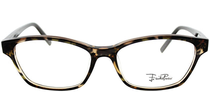 Emilio Pucci EP 2689 236 Griffin On Brown Rectangle Plastic Eyeglasses