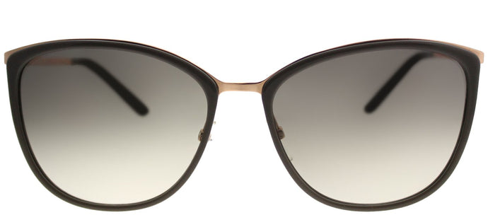 MaxMara MM Classy I/S NOB YR Gold Copper Mud Square Plastic Sunglasses