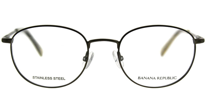 Banana Republic Dane C6I Semi Matte Olive Round Metal Eyeglasses