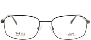 Elasta Elasta 7104 2HH Bakelite Rectangle Metal Eyeglasses