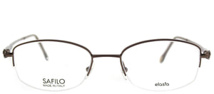 Emozioni Emozioni 4321/N NBR Brown Oval Metal Eyeglasses