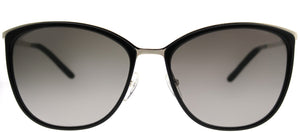 MaxMara MM Classy I/S NO1 HA Light Gold Black Square Plastic Sunglasses