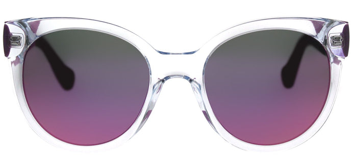 Havaianas Noronha/M 22S VQ Crystal Lilac Round Plastic Sunglasses