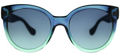 Havaianas Noronha/M 3UK JF Dark Green Blue Round Plastic Sunglasses