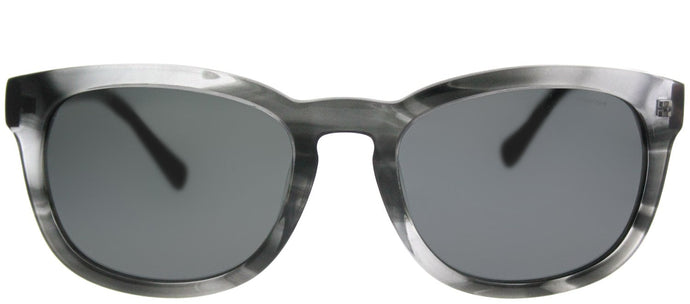 Jack Spade JS Bryant/P 1B7P Y2 Striated Grey Rectangle Plastic Sunglasses
