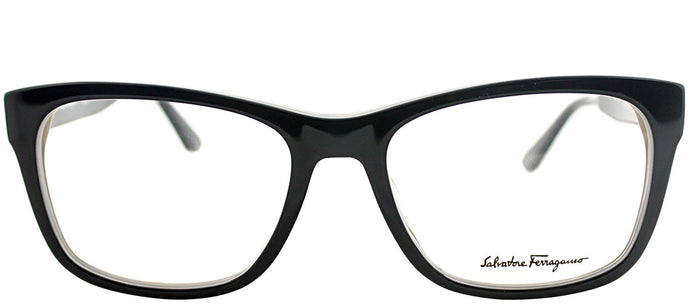 Salvatore Ferragamo SF 2693 009 Black Rectangle Plastic Eyeglasses