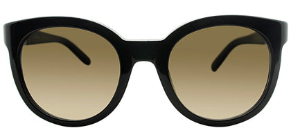 Salvatore Ferragamo SF 783S 001 Black Round Plastic Sunglasses