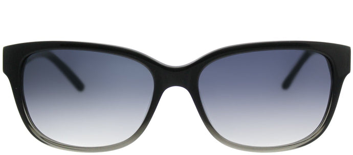 Saks Fifth Avenue SAKS 80/S W21 AM Black Fade Rectangle Plastic Sunglasses