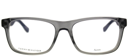 Tommy Hilfiger TH 1282 FNV Gray White Rectangle Plastic Eyeglasses