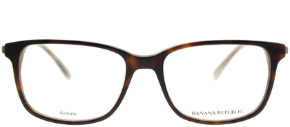 Banana Republic Noah FC3 Tortoise Horn Rectangle Plastic Eyeglasses