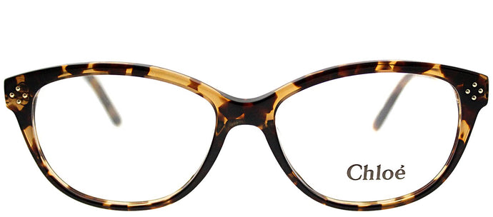 Chloe CE 2631 218 Havana Cat-Eye Plastic Eyeglasses