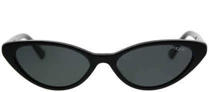 Vogue Eyewear Gigi Hadid For Vogue VO 5237S W44/87 Black Cat-Eye Plastic Sunglasses