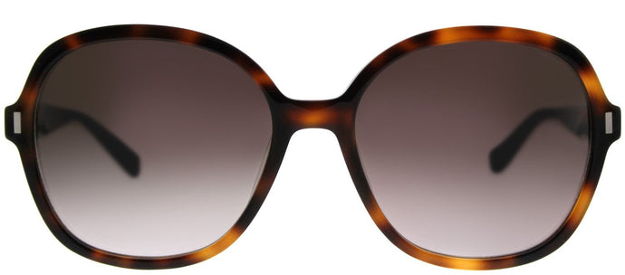 Bobbi Brown The Collin WR9 Brown Havana Square Plastic Sunglasses
