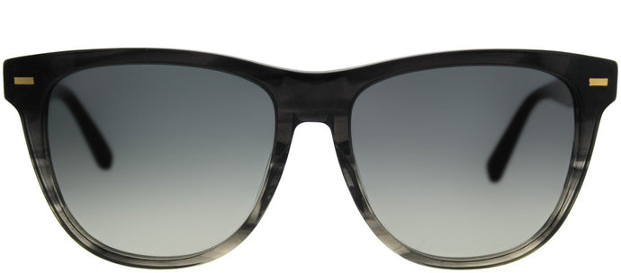 Bobbi Brown The Emerson YV4 Black Grey Havana Square Plastic Sunglasses