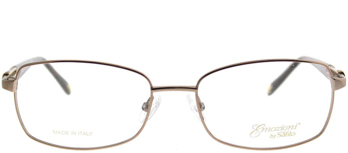 Emozioni Emozioni 4380 1N5 Coral Rectangle Metal Eyeglasses