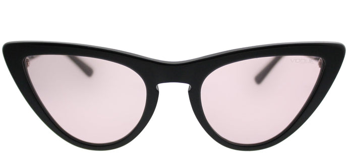 Vogue Eyewear Gigi Hadid For Vogue VO 5211S W44/5 Black Cat-Eye Plastic Sunglasses