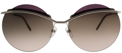 Marc Jacobs MARC 102/S 3YG ZV Light Gold Round Metal Sunglasses