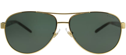 Ralph by Ralph Lauren RA 4004 900471 Gold Aviator Metal Sunglasses