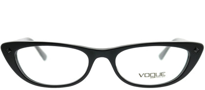 Vogue Eyewear Gigi Hadid For Vogue VO 5236B W44 Black Cat-Eye Plastic Eyeglasses