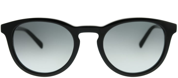 Banana Republic Johnny 807 9O Black Round Plastic Sunglasses