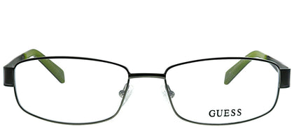 Guess GU 1769 OL Olive Metal Rectangle Eyeglasses