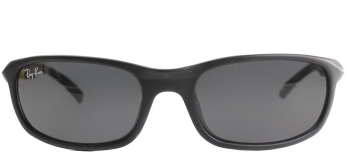Ray-Ban Jr RJ 9056 Sport Plastic Sunglasses - Matte Black with Grey Lens