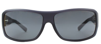 Armani Exchange AX 4007 802087 Matte Black Transparent Fashion Plastic Sunglasses