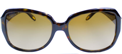 Ralph by Ralph Lauren RA 5138 Fashion Plastic Sunglasses - Dark Tortoise with Brown Gradient Lens