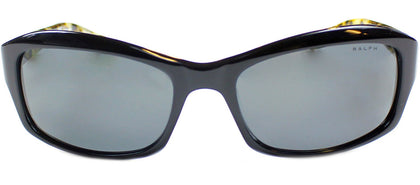 Ralph by Ralph Lauren RA 5137 Fashion Plastic Sunglasses - Black Marble with Grey Lens