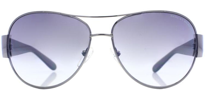 Marc By Marc Jacobs MMJ 149 ZKO Dark Ruthenium & Transperent Grey Aviator Metal Sunglasses