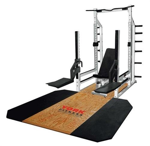 York Solid Oak Insert for Power Rack and Multi-Function Rack