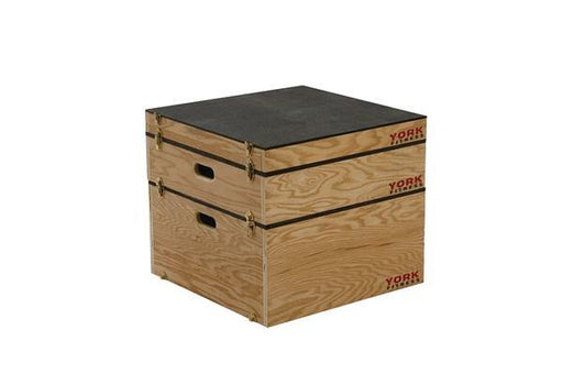 "York 12"" Stackable Set-Up Plyo Box"