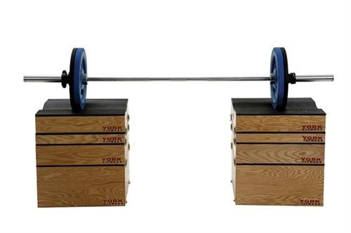 "York 3"" Stackable Set-Up Plyo Box"