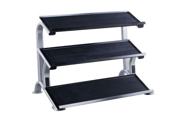 York ETS 3 Tier Dumbbell Tray Rack (Holds 14 pairs)