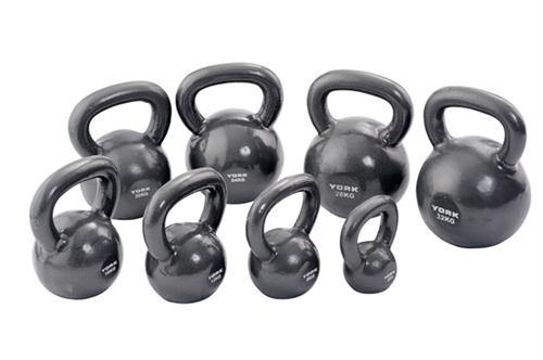 York 4kg Cast Iron Kettlebell