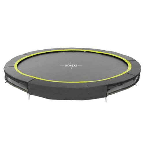 Exit Silhouette Ground Trampoline Ø305cm - Black