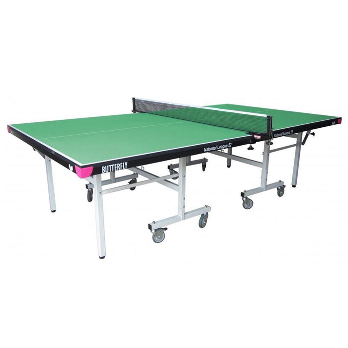 Butterfly National League 22 Rollaway Table Tennis