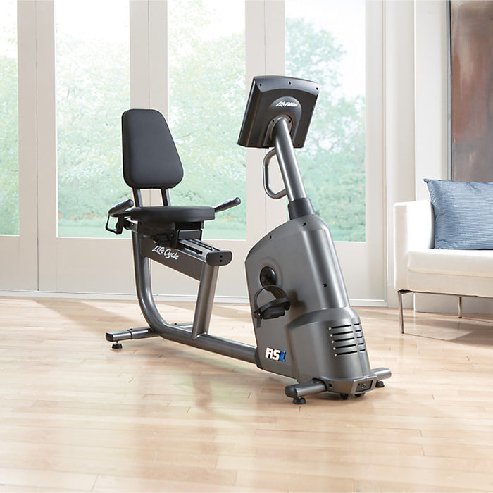 Life Fitness RS1 Lifecycle Exercise Bike with Go Console - FREE INSTALLATION