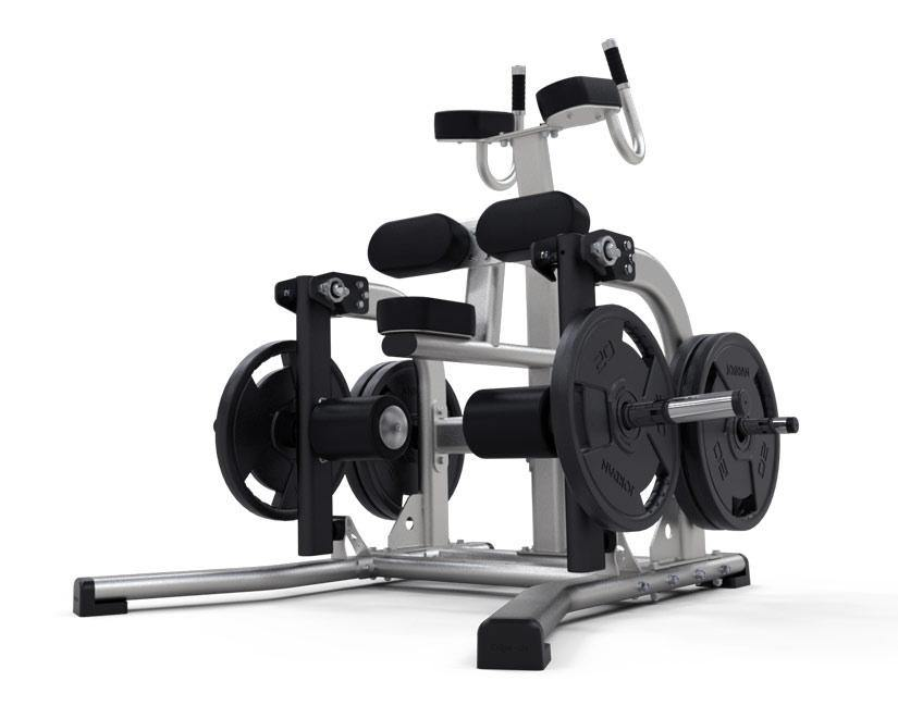 Exigo Iso-Lateral Standing Leg Curl Plate Loaded