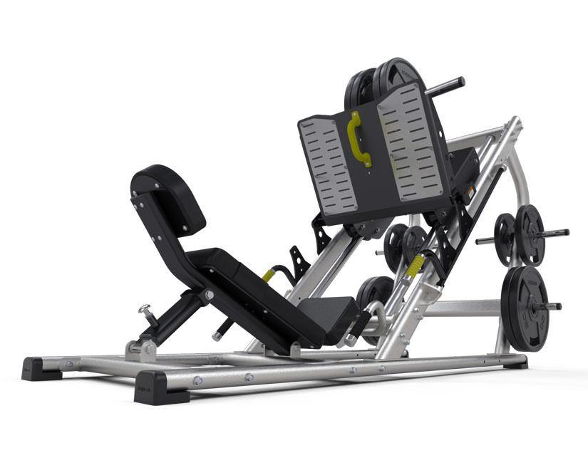 Exigo 45 Degree Leg Press Plate Loaded