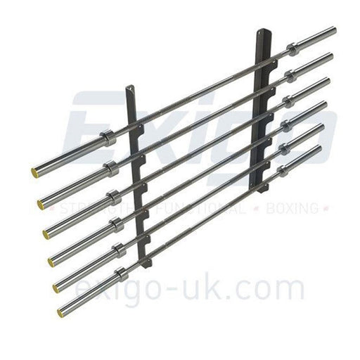 Exigo 6 Bar Horizontal Wall Gun Rack