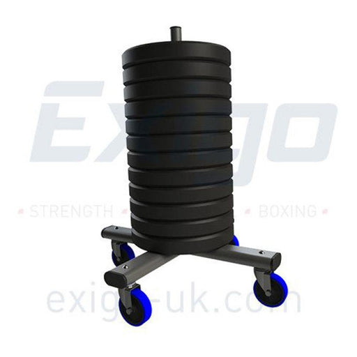 Exigo Olympic Weight Stacker - With Wheels