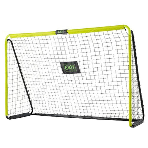 Exit Tempo Steel Football Goal 240cm x 160cm - Green/Black