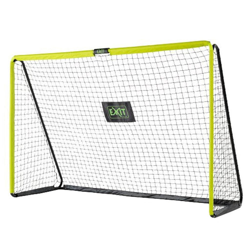 Exit Tempo Steel Football Goal 300cm x 200cm - Green/Black