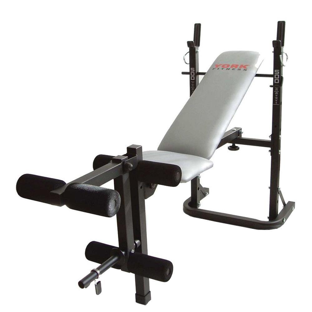 York 500 Folding Barbell Bench Best Gym Equipment
