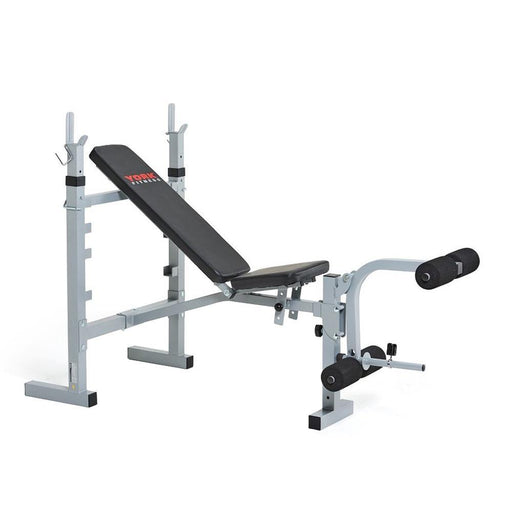 York 530 Heavy Duty Multi-Function Barbell Bench