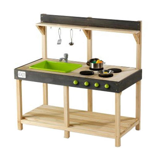 Exit Yummy 100 Wooden Outdoor Kitchen - Naturel
